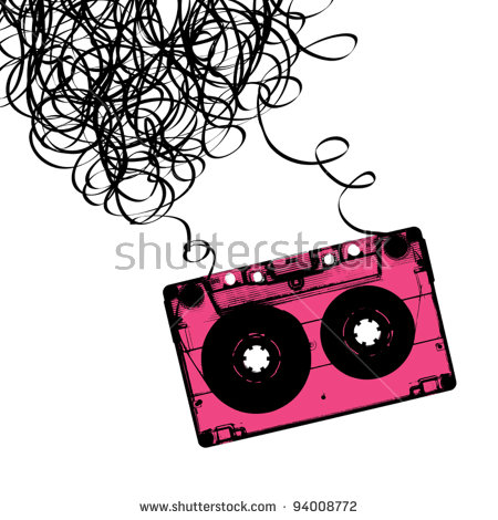 Cassette Tape Stock Photos, Royalty.