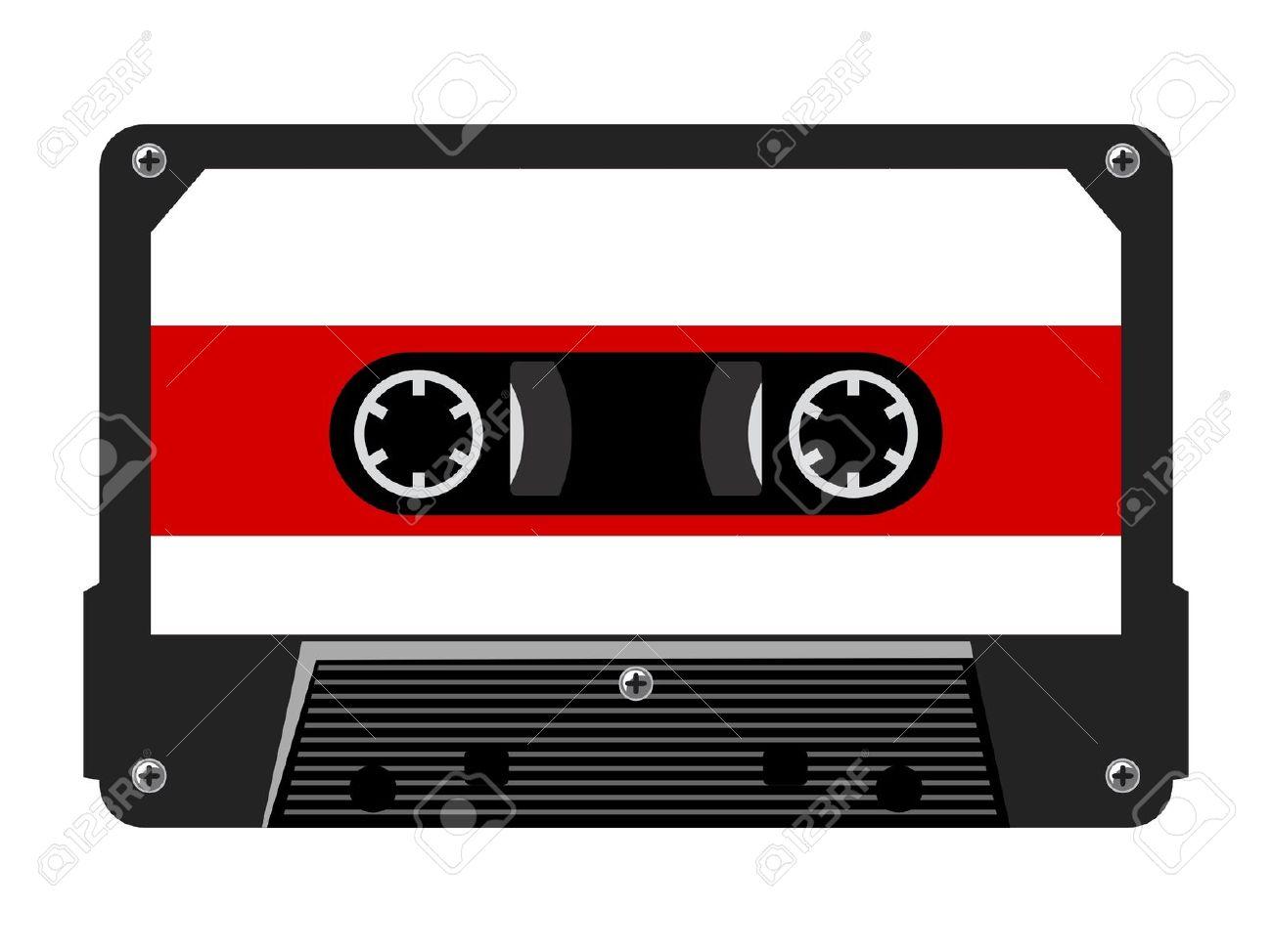 Audio Tape Clip Art.