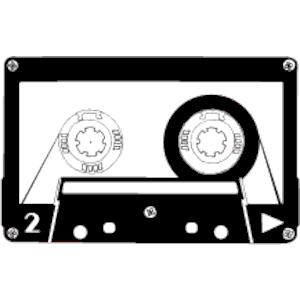 Audio Cassette clipart, cliparts of Audio Cassette free download.