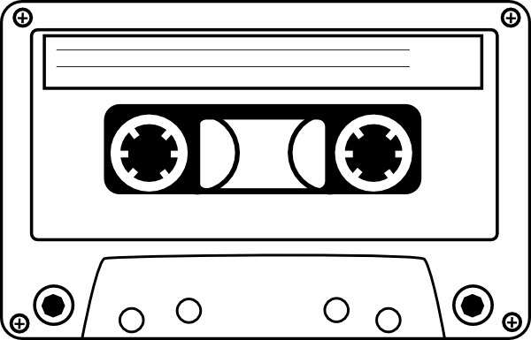 Cassette tape clipart free.