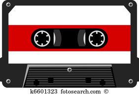 Audio cassette Clipart Vector Graphics. 3,468 audio cassette EPS.