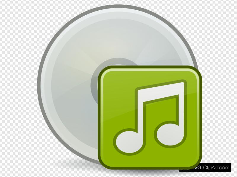 Burn Audio Cd Clip art, Icon and SVG.