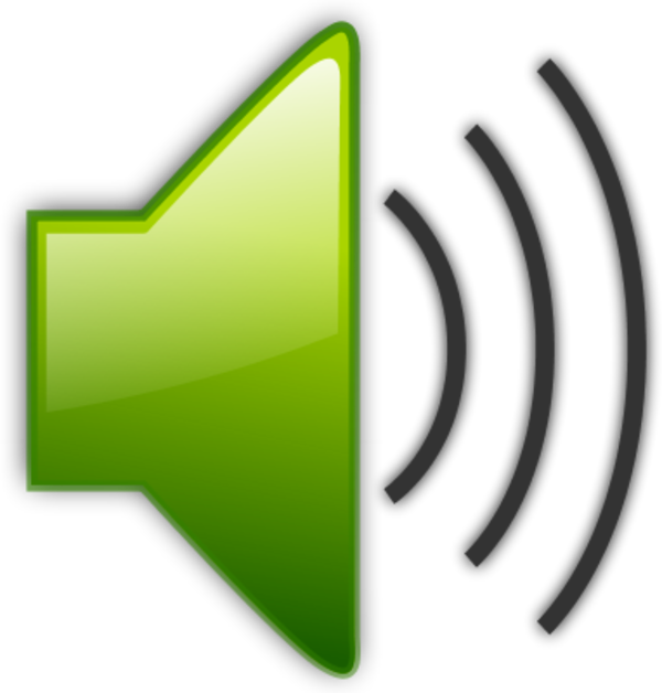 Clipart audio sounds.