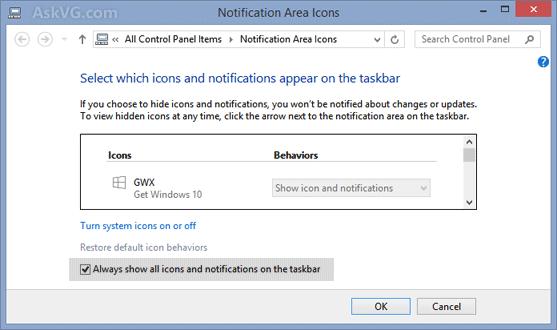 "Fix] ""Get Windows 10"" Upgrade App Icon is Missing in Taskbar."