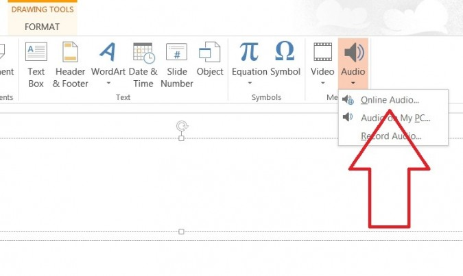 How to Add Audio and Video in PowerPoint 2013.