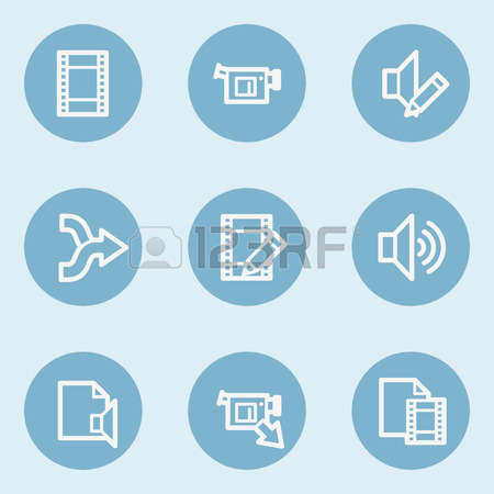 1,855 Video Editing Stock Vector Illustration And Royalty Free.