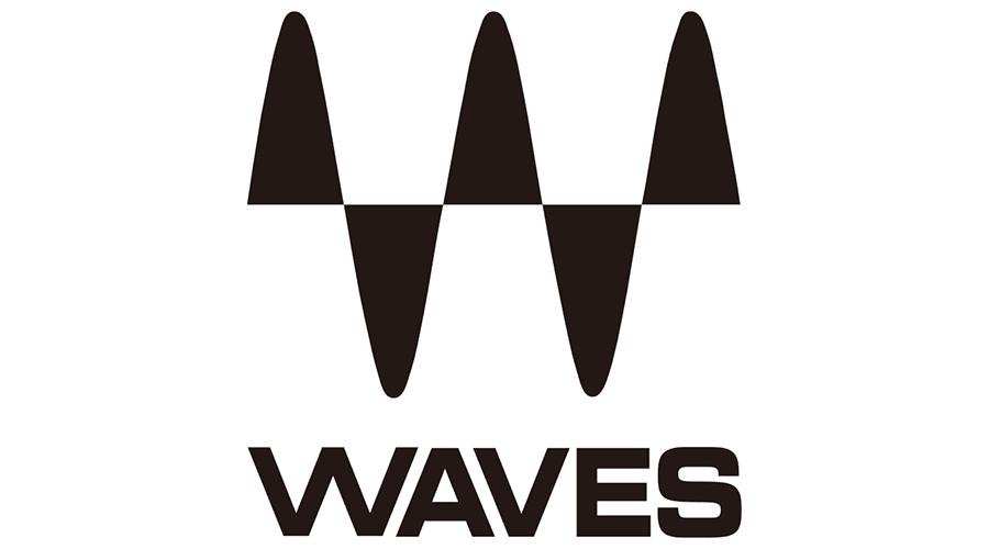 Waves Audio Logo Vector.