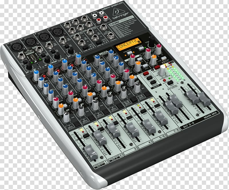Microphone Audio Mixers Behringer Dynamic range compression.
