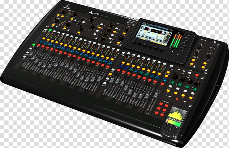 Microphone preamplifier Audio Mixers Digital mixing console.
