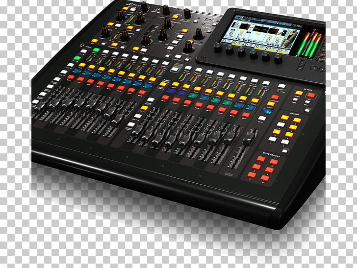 Audio Mixers BEHRINGER X32 COMPACT Digital Mixing Console PNG.