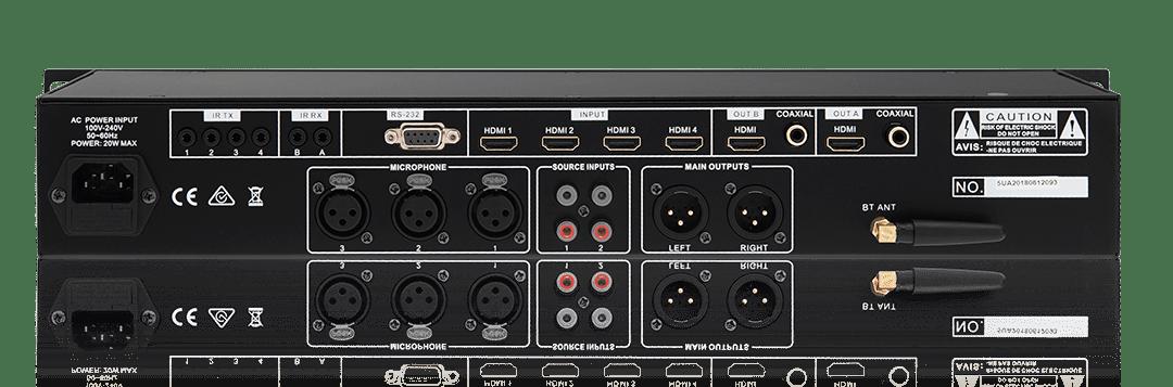 SDM100 Digital Audio Mixer & Video Switcher.