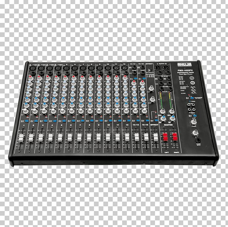 Microphone Audio Mixers Public Address Systems Audio Mixing PNG.