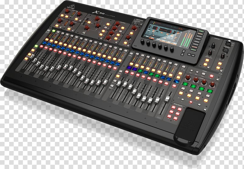 Digital mixing console Audio Mixers Behringer DJ mixer, Mixer.