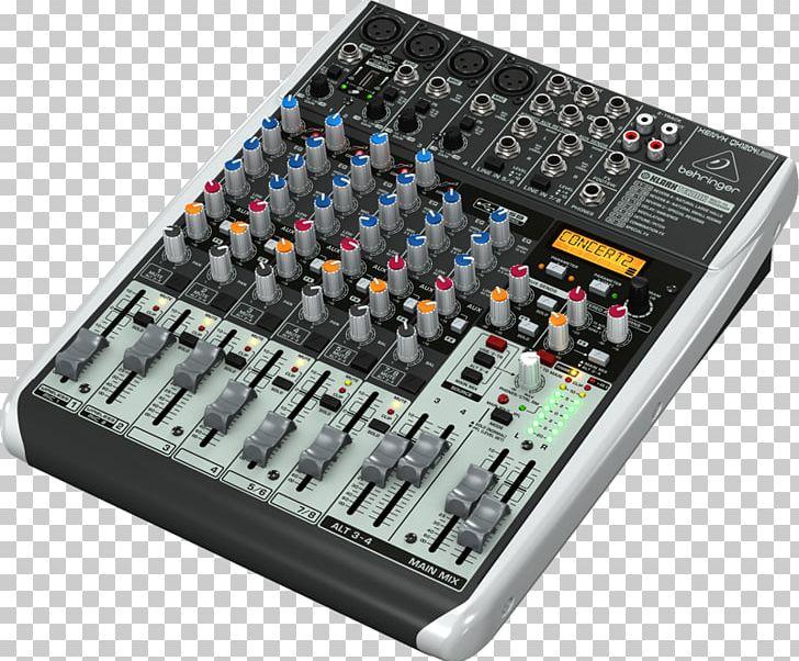 Behringer Xenyx X1204USB Audio Mixers Behringer Xenyx 302USB PNG.