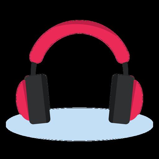 Audio headphones icon music.