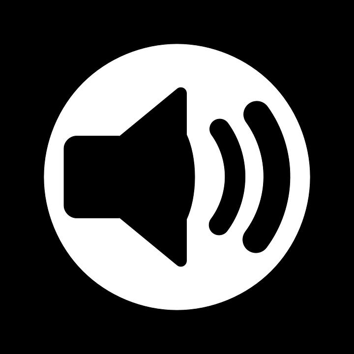 Audio Sound Speaker.