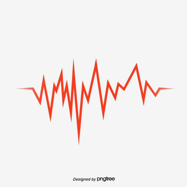 Download Free png Red Audio Line, Line Vector, Vector Red, Audio.