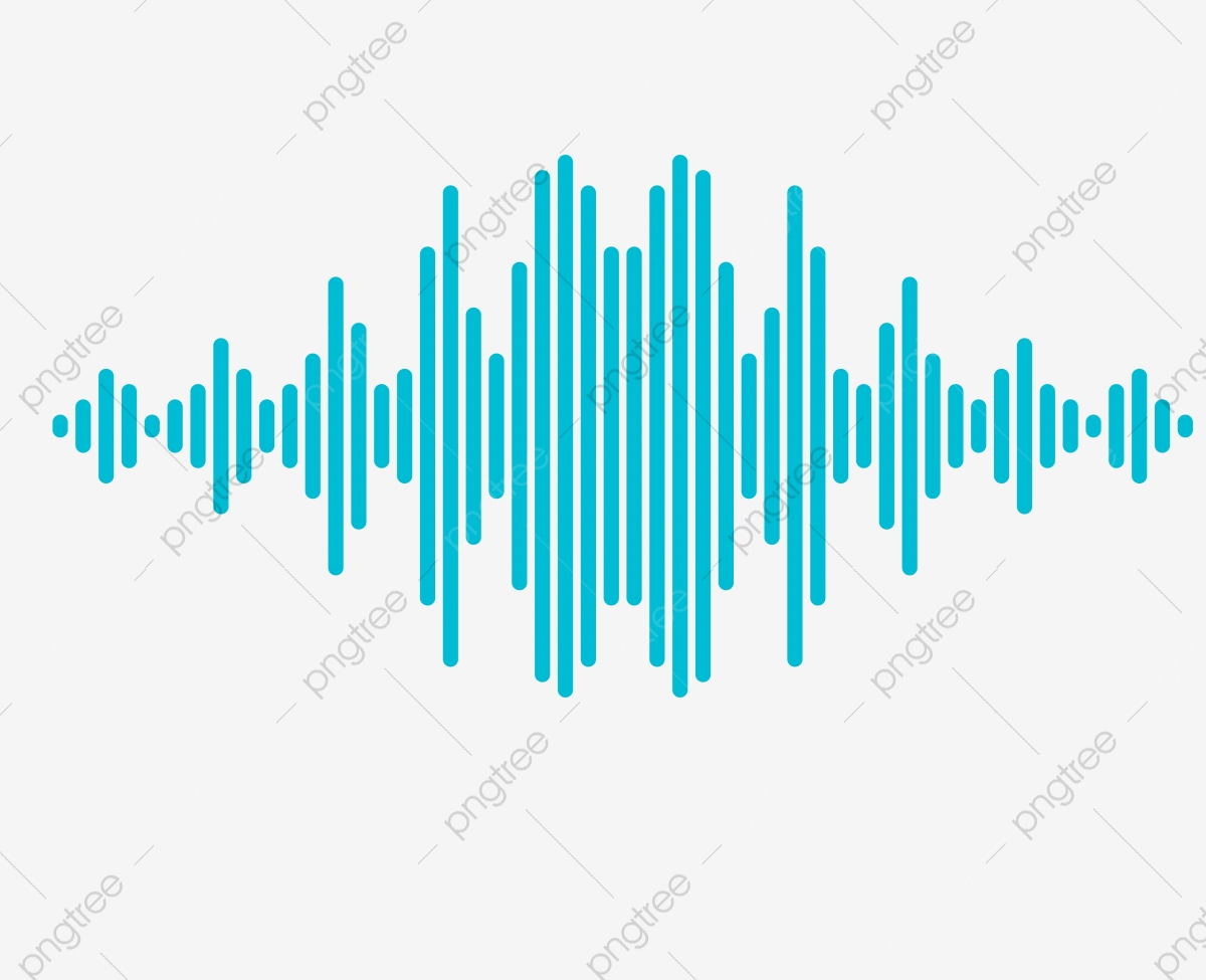 Vector Rectangular Sound Wave Curve Png Picture, Audio, Sound PNG.