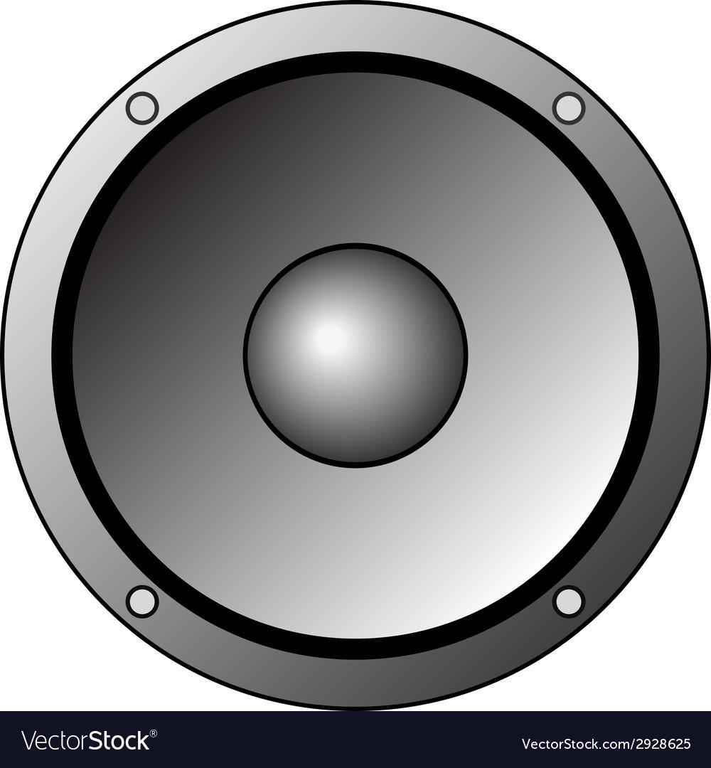 Speaker Clipart Icon.
