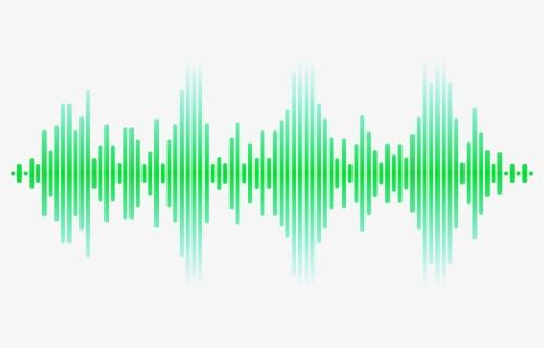 Free Sound Waves Clip Art with No Background.