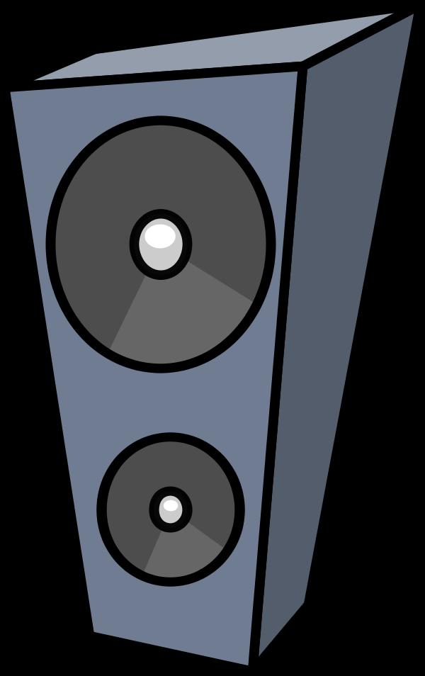 Stereo Speaker Clipart.