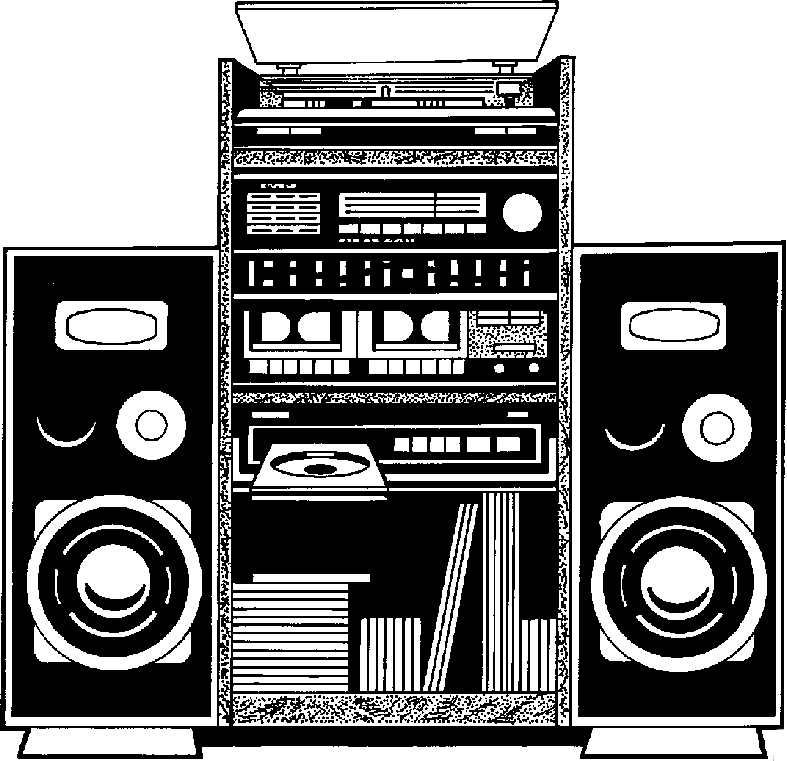 Stereo Clipart.