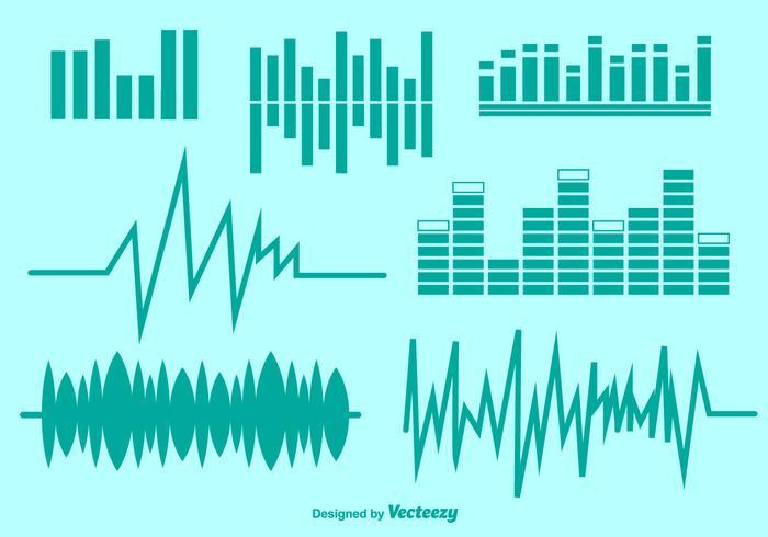 Vector Audio Symbols Set.