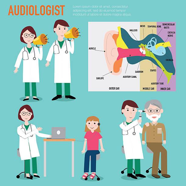 Best Audiologist Illustrations, Royalty.
