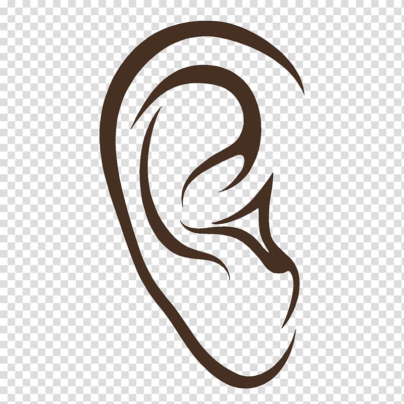 Hearing loss Ear Anatomy Audiology, ear transparent.