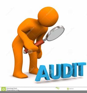 Audit Cartoon Clipart.
