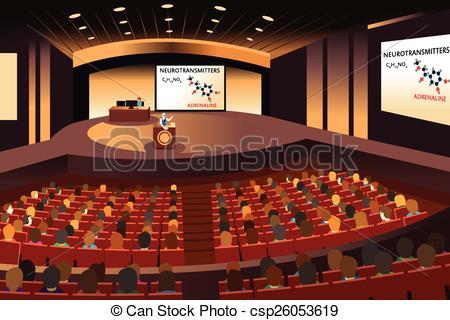 Open auditorium clipart #3