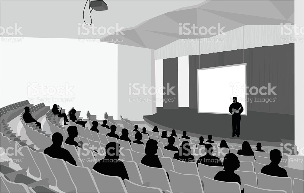 Auditorium Clip Art, Vector Images & Illustrations.