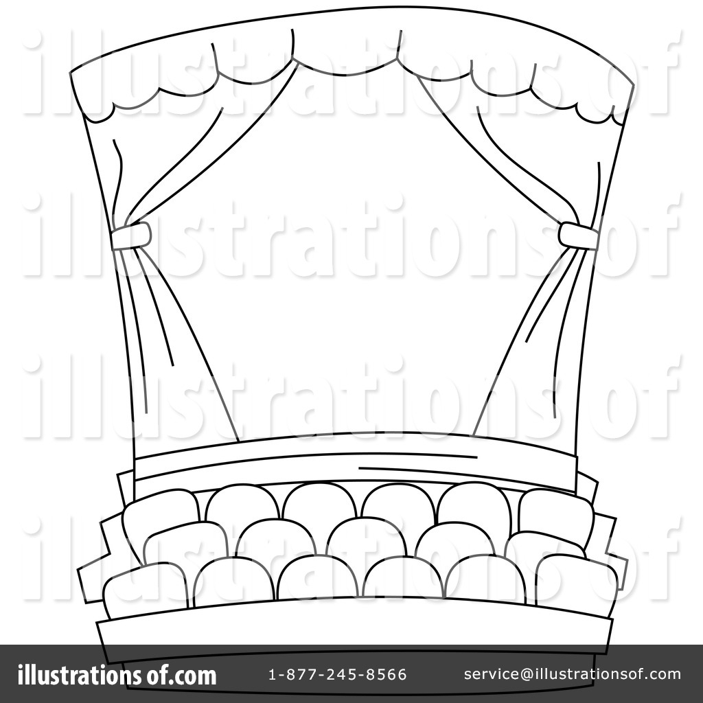 2188 Theater free clipart.