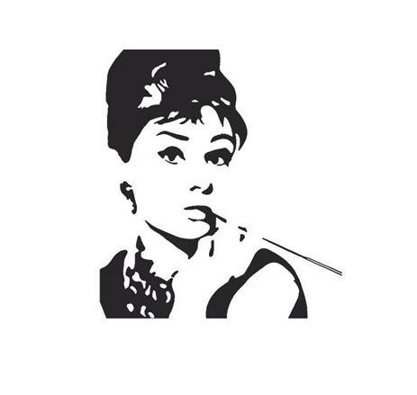Audrey hepburn clipart free.