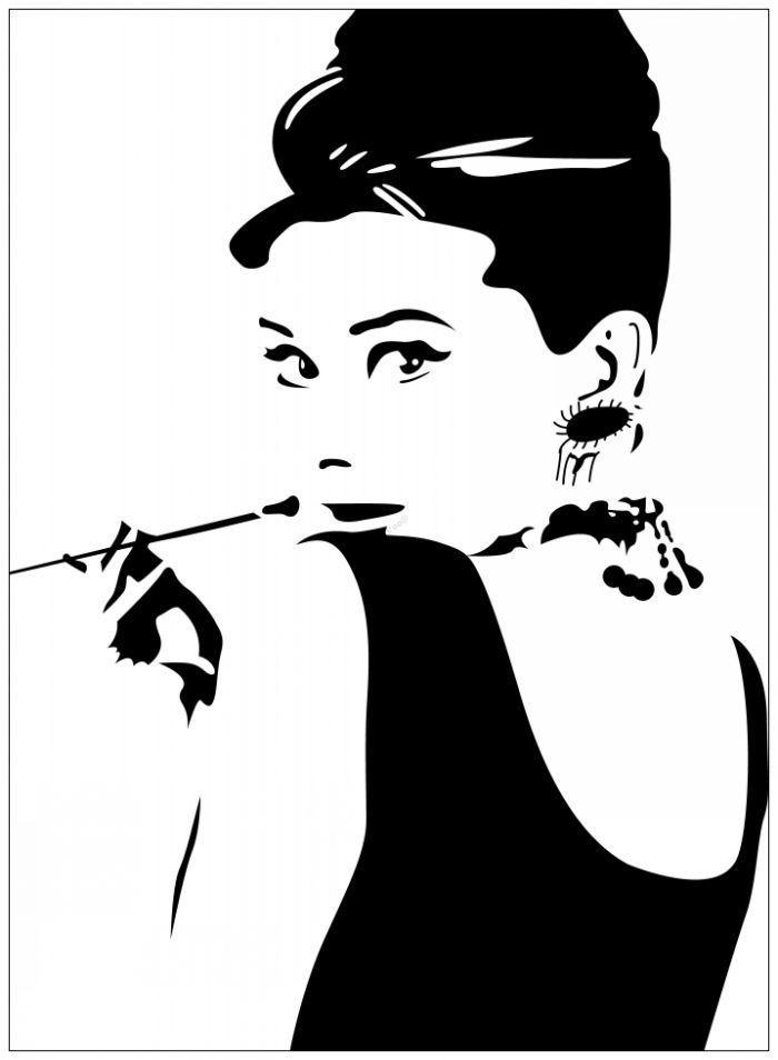 Free Audrey Hepburn Cliparts, Download Free Clip Art, Free.