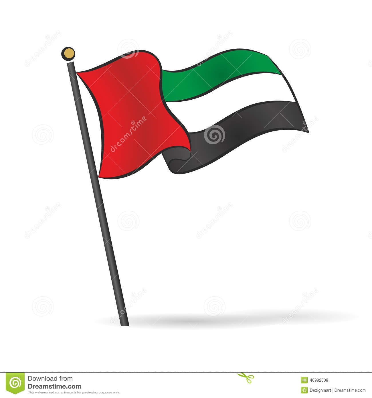 United arab emirates clipart #18