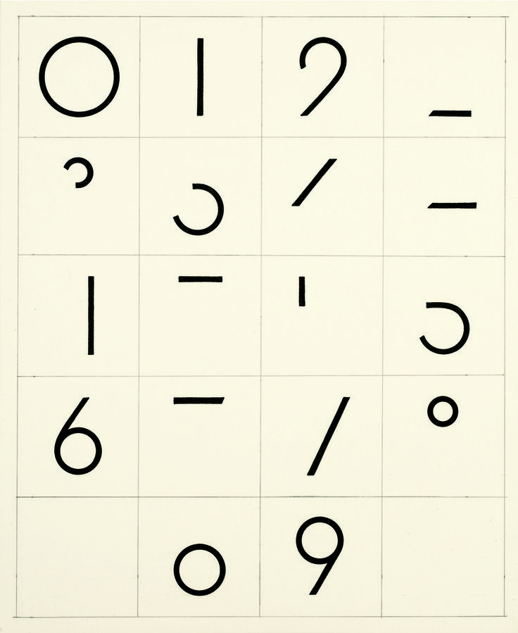 Graphic Numbers.