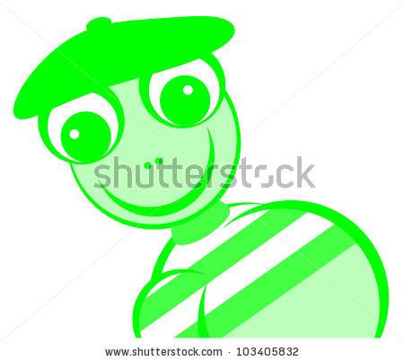 Green Monster Stockillustration 97112639.