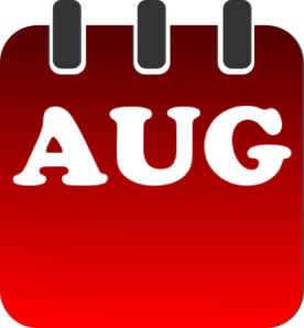 August 20clipart.