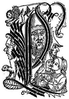 Initial B from Plenarium, Augsburg, 1473..