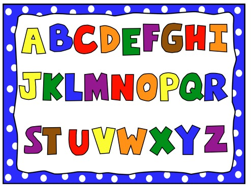 Preschool Abc Clipart.