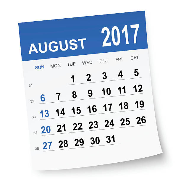 August 2017 calendar » Clipart Station.