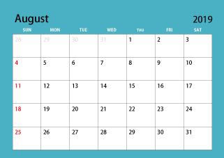 Free Portrait 2020 Calendar Image|Illustoon.