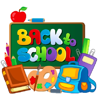 August clipart back to school, August back to school.