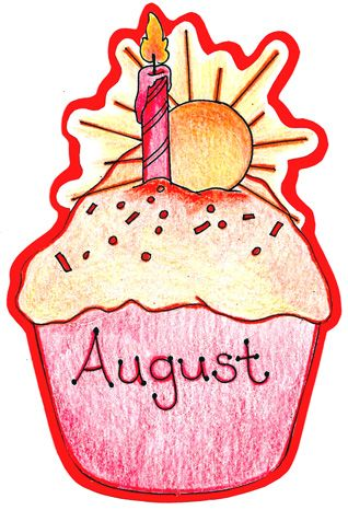 August birthday clipart 3 » Clipart Station.