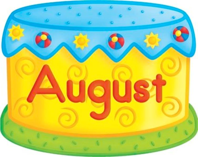 August birthday clipart 2 » Clipart Station.