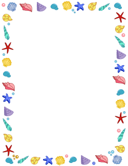Free Summer Borders: Clip Art, Page Borders, and Vector Graphics.