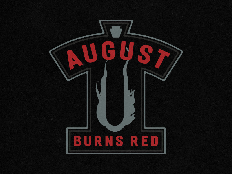 August Burns Red Hockey Jersey by Kevin Schrecengost on Dribbble.