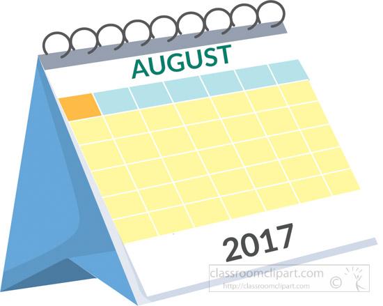 Calendar august 7 clipart september printable calendars.