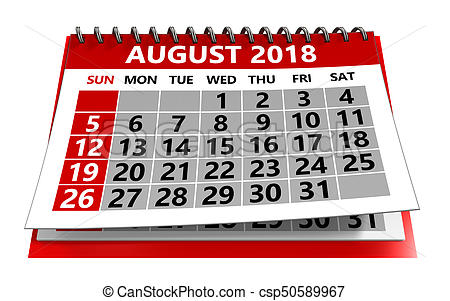 August 2018 Illustrations and Clip Art. 1,996 August 2018 royalty.